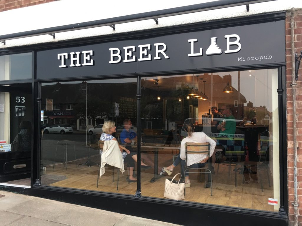 The Beer Lab - Front Daytime